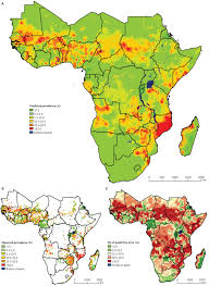 Map Of Mali Africa by Spatial Distribution Of Schistosomiasis And Treatment Needs In Sub