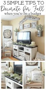 Tips To Decorate Home 3 Simple Tips To Decorate For Fall On A Budget