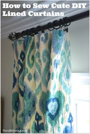 tips to choosing beautiful pinch pleat curtains how to sew cute lined diy curtains thrift diving blog