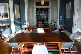 Mid Century Modern Dining Room Tables Stay At Home Ista Dining Room Update 2 Tables