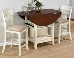 kitchen small drop leaf island dining table with storage shabby