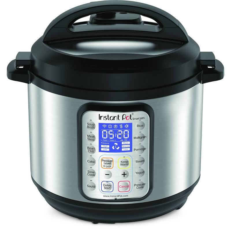 Instant Pot Smart Wi-Fi 6 Quart Multi-use Electric Pressure Cooker