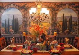 Southern Seazons Tuscan Dining - Tuscan dining room