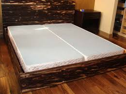 Diy Platform Bed Frame Designs by How To Make A Platform Bed Frame With Storage Underneath The