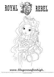 ever after high briar beauty coloring pages getcoloringpages com