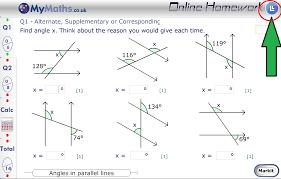 I can do my maths homework