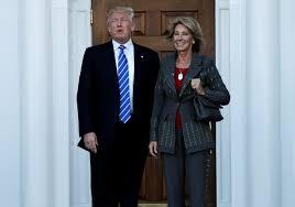 who is trump u0027s pick for education secretary betsy devos pbs
