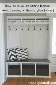 Plans To Build A Storage Bench by 12 Diy Entryway Projects Entry Bench Mud Rooms And Mudroom