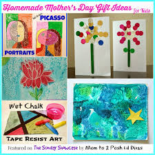mom to 2 posh lil divas homemade mother u0027s day gifts for kids the