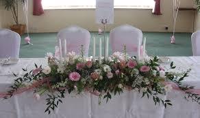 Table Flower Arrangements Silk Flower Arrangements For Weddings Venue Flowers Top Table