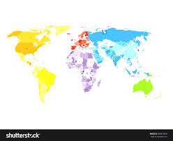 Colored World Map antarctica clipart world map pencil and in color antarctica