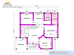 2080 square feet home plan and elevation kerala home design and