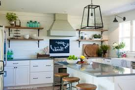 farm kitchen designs four wooden dining chair on the blac cottage