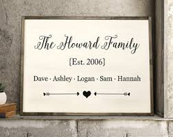 Personalized Signs For Home Decorating Grandma Wood Sign Etsy