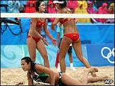 Brasil perde bronze em pior campanha do vôlei de praia feminino