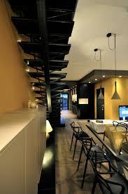 luxury interior design for duplex apartment near parc sainte marie