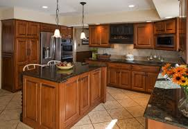 Marble Top Kitchen Islands by Kitchen Room Design Interior Classic Brown Mahogany U Shaped