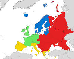 Map Of Europe During The Cold War by Central And Eastern Europe Wikipedia