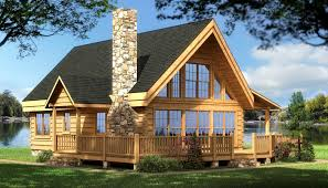 Cabin Design Ideas Log Cabin House Plans Rockbridge Log Home Cabin Plans Back