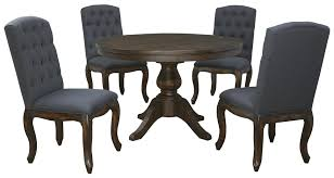 Ashley Furniture Round Dining Sets Signature Design By Ashley Trudell 5 Piece Round Dining Table Set