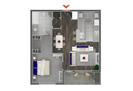 Single Bedroom Apartment Floor Plans by Studio 1 U0026 2 Bedroom Apartments In Atlanta Highland Walk