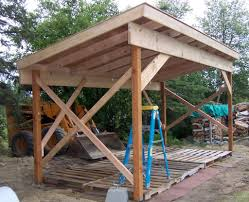firewood shed plans u2013 4 important tips when building a firewood