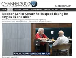 News Reviews   The Age of Love    A Documentary by Steven Loring     madison senior center speed dating