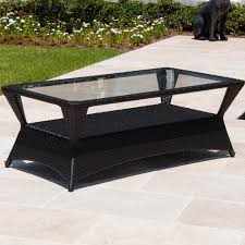 Wicker Patio Providence Resin Wicker Patio Coffee Table By Lakeview Outdoor
