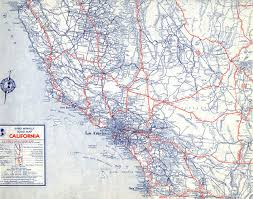 Southern Colorado Map by The Lost U S Highways Of Southern California History Kcet