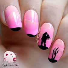 literarywondrous pink nail art pictures design and white designs