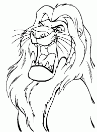 lion king coloring page coloring pages pinterest lions