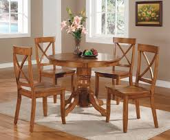 Dining Room Sets With Round Tables Amazon Com Home Styles 5179 318 5 Piece Dining Set Cottage Oak