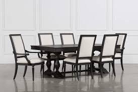 chapleau 7 piece extension dining set living spaces chapleau 7 piece extension dining set 360