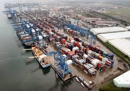 SSA terminal in Manzanillo, Panama