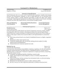 Resume For Sales Representative Position   Samples Of Resumes