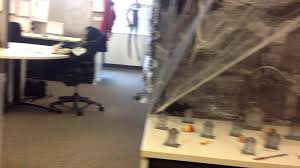 halloween cubicle decorating contest youtube