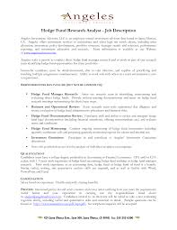 Resume Examples  Hedge Fund Resume Sample  resume example for     Rufoot Resumes  Esay  and Templates