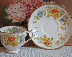 bone china tea set etsy