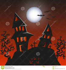 free halloween background images haunted monster house halloween background vect royalty free