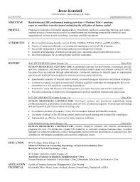 hr objective for resume   Template hr objective for resume