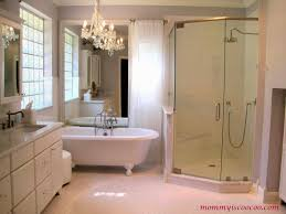 Bathroom Mirror Ideas On Wall Remodelaholic How To Remove And Reuse A Large Builder Grade Mirror
