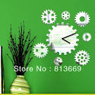 Aliexpress.com : Buy 3D diy mirror wall clocks fairy with stars ...