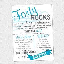 Free Printable Birthday Invitation Cards With Photo Birthday Invites Simple 40th Birthday Invitation Wording Ideas