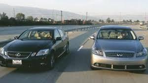 2008 lexus gs 460 reliability 2006 lexus gs 430 vs 2006 infiniti m45 sport luxo grudge match