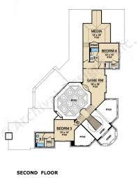 Best Selling House Plans San Gimignano Luxury Floor Plan Mediterranean House Plan
