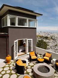 home updated with modern interiors rooftop garden and views that kill