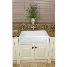 Fne Fixtures Fireclay French Inch White Farmhouse Kitchen Sink - French kitchen sinks