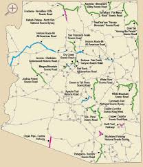 Map Of Arizona by Arizona Scenic Roads See For Yourself Why The Scenic Roads Of