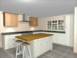 Kitchens With Islands Ideas L Shaped Kitchen With Island Bench Seats On Both Ends Of Island