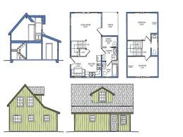 Floor Plans With Loft Small Cabin With Loft Floorplans Photos Of The Small Cabin Floor